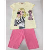 Conjunto Barbie - 7 anos - Disney