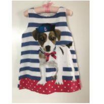 Vestido cachorro - 3 anos - Não informada