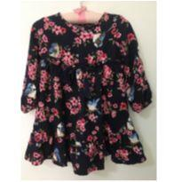 Vestido floral - 12 a 18 meses - Marisol