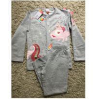 Pijama unicórnio - 5 anos - Marisol