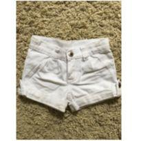 Short branco - 18 a 24 meses - Color Mini