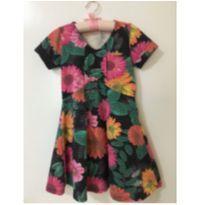 Vestido floral - 3 anos - Colorittá