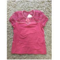 Blusa pink - 10 anos - Carinhoso