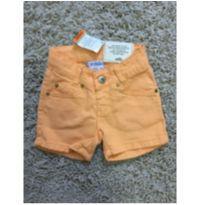 Shorts laranja - 18 a 24 meses - Marisol
