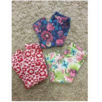 Kit calças corsário - 3 anos - Brandili
