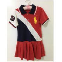 Vestido polo Réplica - 3 anos - Ralph Lauren