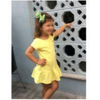 Vestido amarelo - 24 a 36 meses - Marisol