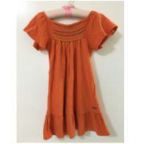 Vestido laranjado - 24 a 36 meses - Marisol