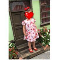 Vestido flores - 2 anos - Hello  Kitty