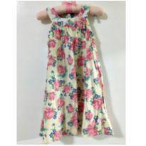 Vestido flores - 2 anos - Rovitex Kids
