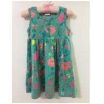 Vestido floral - 18 a 24 meses - Elian