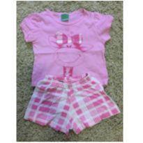 Pijama girafinha - 18 meses - Malwee