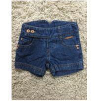Shorts jeans - 6 a 9 meses - Lilica Ripilica