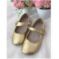 Sapato dourado - 26 - Pampili