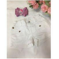 Shorts branco - 18 a 24 meses - Lilica Ripilica