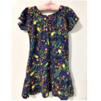 Vestido abacaxi - 4 anos - Alakazoo!