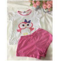 Pijama coruja - 3 anos - Não informada