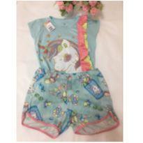 Pijama unicórnio - 10 anos - Marisol