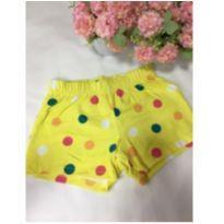 Shorts bolinhas - 18 a 24 meses - Marisol