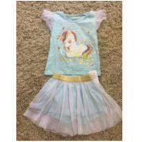 Pijama unicórnio - 18 a 24 meses - Marisol