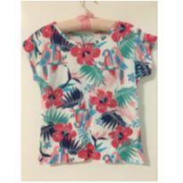 Blusa Tropical - 6 anos - Marisol
