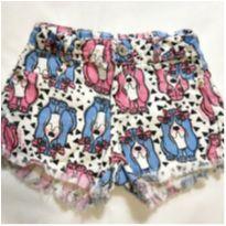 Shorts cachorros - 6 anos - Momi