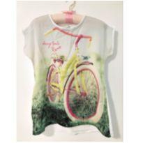 Blusa bicicleta - 6 anos - Malwee