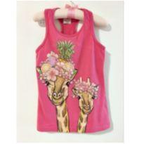 Blusa girafas - 6 anos - Palomino
