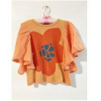 Blusa laranja - 4 anos - Fábula