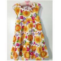 Vestido lindo floral - 4 anos - Gymboree