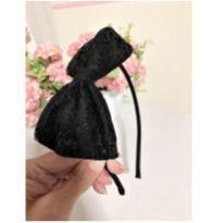 Tiara laço preto -  - Marisol