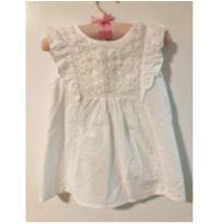 Bata branca charmosa - 24 a 36 meses - Zara Baby