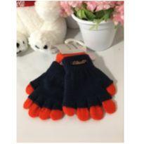 Luvas azul marinho / laranja -  - Lilica Ripilica