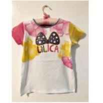Blusa lilica laço - 2 anos - Lilica Ripilica