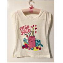 Blusa Fresh Juice - 4 anos - Marisol