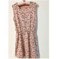 Vestido rosé - 7 anos - Marisol