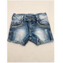 Shorts jeans estiloso - 5 anos - Não informada