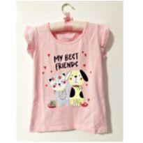 Blusa amigos - 6 anos - Marisol