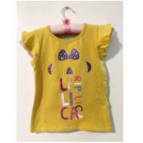 Blusa Amarela - 2 anos - Lilica Ripilica