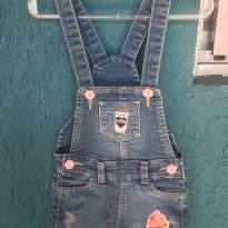 Jardineira (Salopete) Jeans - 2 anos - Variadas
