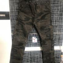 Calça Camuflado Masculina - 10 anos - Variadas