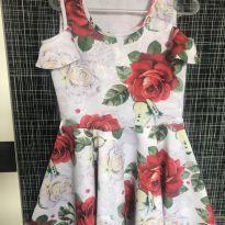 Vestido Florido - 4 anos - Gabriela Aquarela