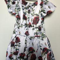 Vestido Florido - 3 anos - Produzido em Atelier