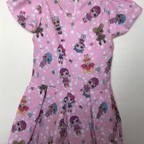 Vestido LoL - 3 anos - Produzido em Atelier