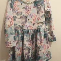 Vestido Unicórnio Chic - 6 anos - Kiki Xodó