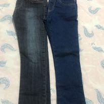 Kit 2 Calças Jeans - 4 anos - Figurinha