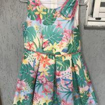 Vestido Florido Mon Sucre - 4 anos - Mon Sucré