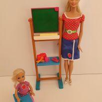 Boneca Barbie Professora e Aluna -  - Mattel