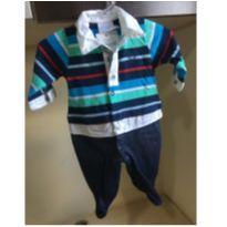 Macacão Luxo RN - Recém Nascido - Noruega Baby
