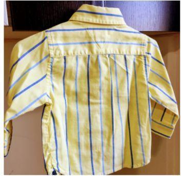 Camisa Longa Tommy Hilfiger 3/6M - 3 a 6 meses - Tommy Hilfiger